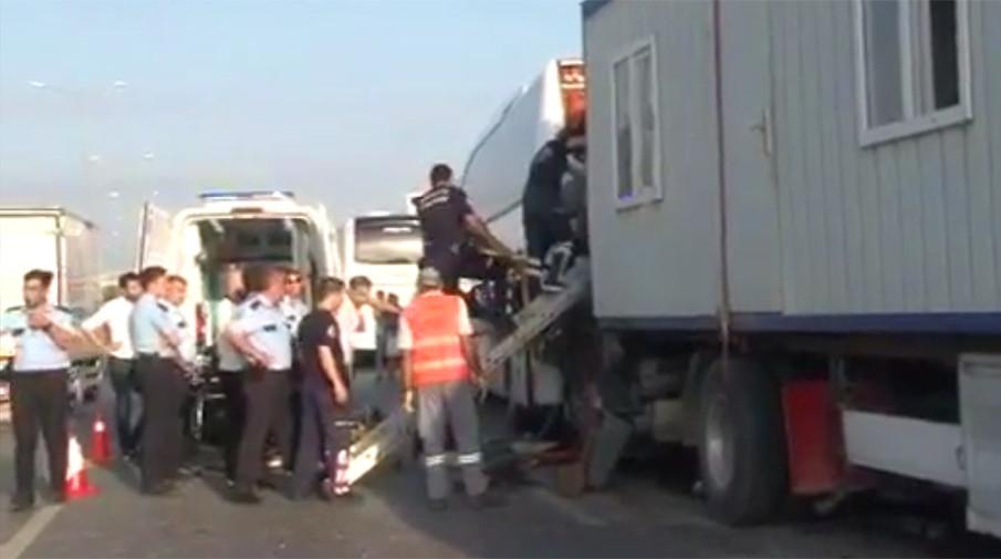 ВДТП сучастием автобуса вАнталье пострадали пятеро граждан России