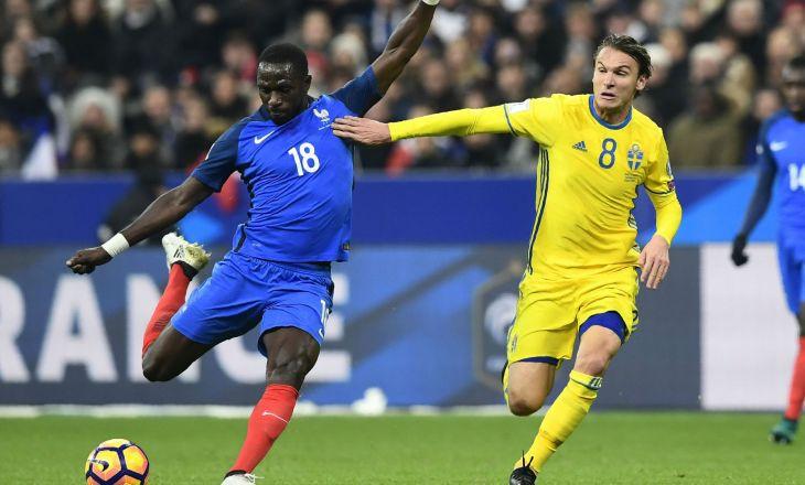 Футболисты сборной Швеции одержали волевую победу над командой Франции вотбореЧМ