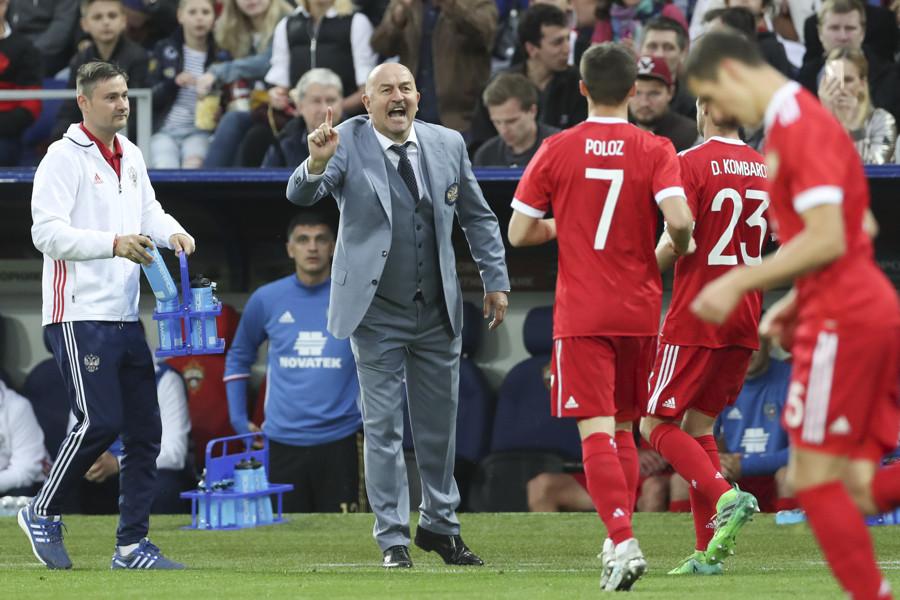 Сборная РФ сыграла вничью скомандой Чили втоварищеском матче