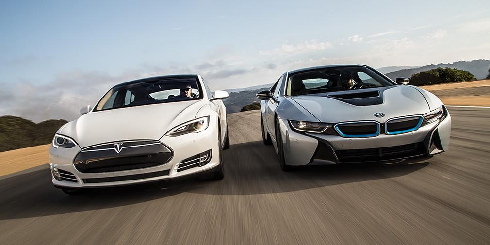 Tesla обогнала БМВ попоуровню капитализации