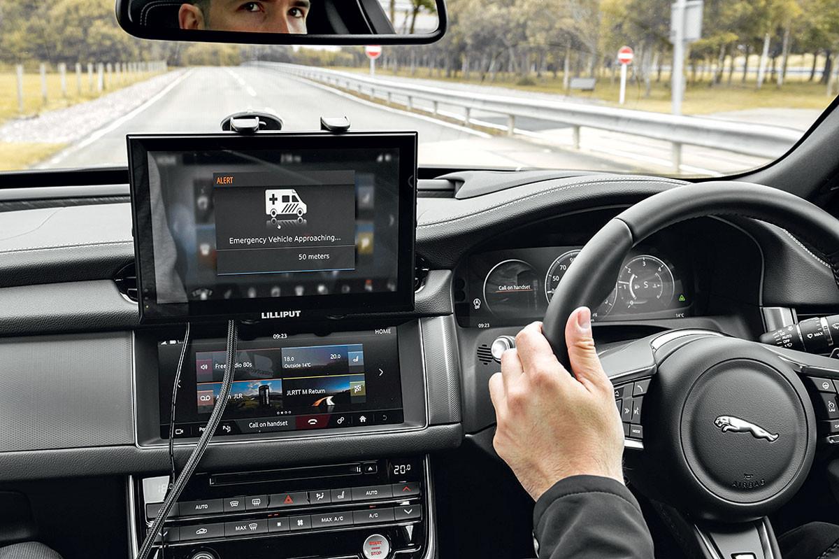 Компания Ягуар Лэнд-Ровер будет работать над созданием беспилотного автомобиля