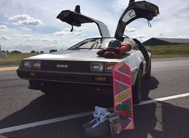 DeLorean изфильма «Назад вбудущее» продается за2,53 млн руб.