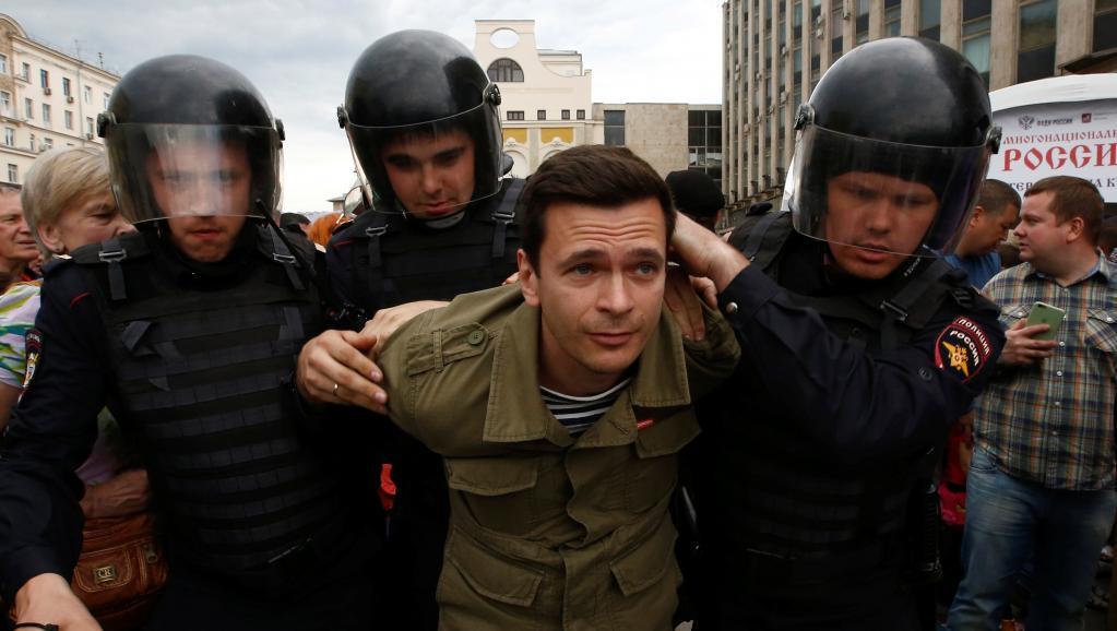 Яшина арестовали на15 суток