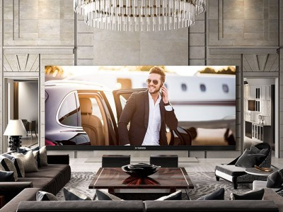Представлен наибольший исамый дорогой 4K-телевизор вмире