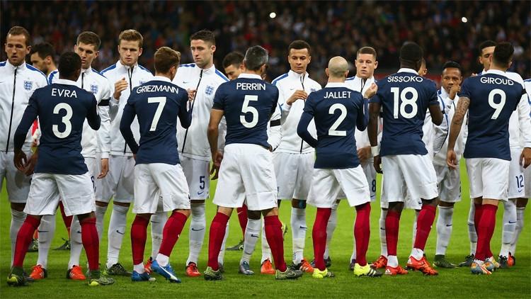 Франция оказалась сильнее Британии  втоварищеском матче