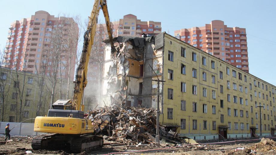 Московские власти продадут половину выстроенных попрограмме реновации квартир