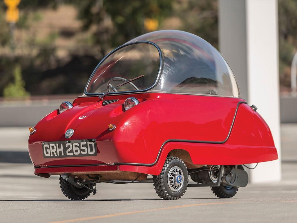Самый небольшой автомобиль вмире выставлен на реализацию вКалифорнии