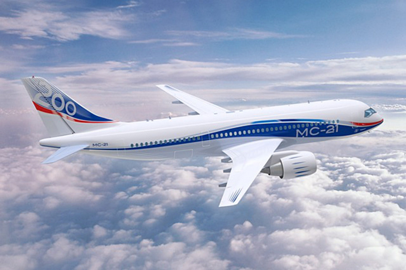 МС-21 совершил 2-ой полет вИркутске