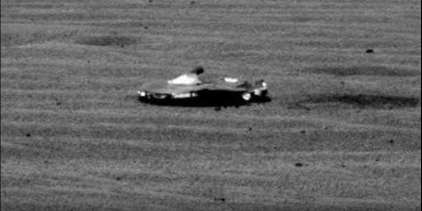Ссайта NASA исчезло фото космического аппарата наМарсе
