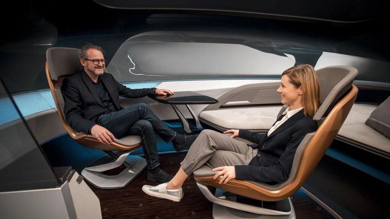 Ауди представила концептуальный автомобиль навсе 100% беспилотного лимузина Long Distance Lounge