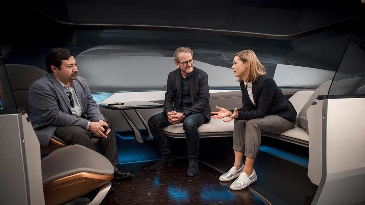 Ауди представила концепт-кар на100% беспилотного лимузина Long Distance Lounge