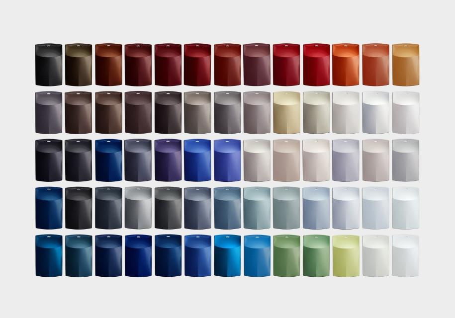 Названы самые известные цвета машин