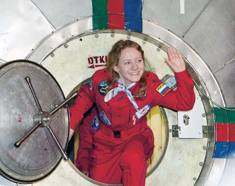 В опыте поимитации полета вдальний космос будут участвовать женщины