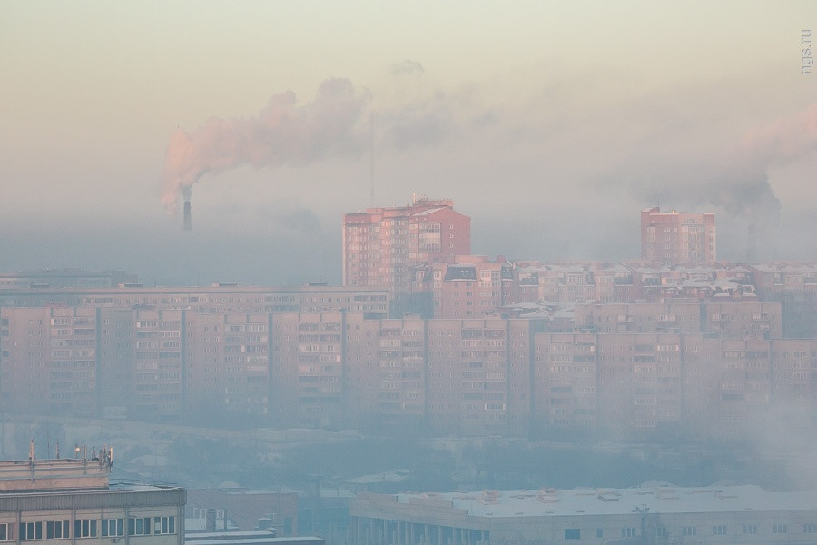 Навыходные вКрасноярске вводится режим «черного неба»