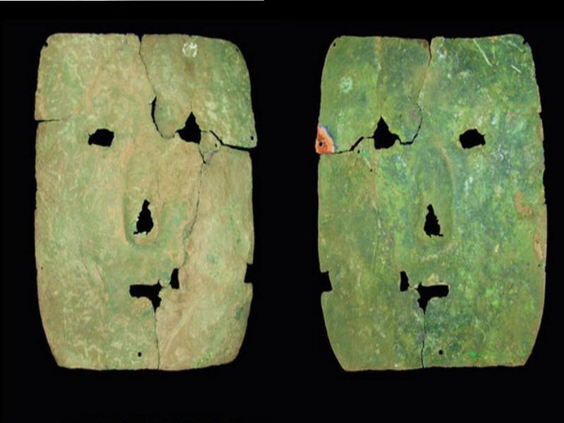 ВАргентине отыскали медную маску возрастом три тысячи лет