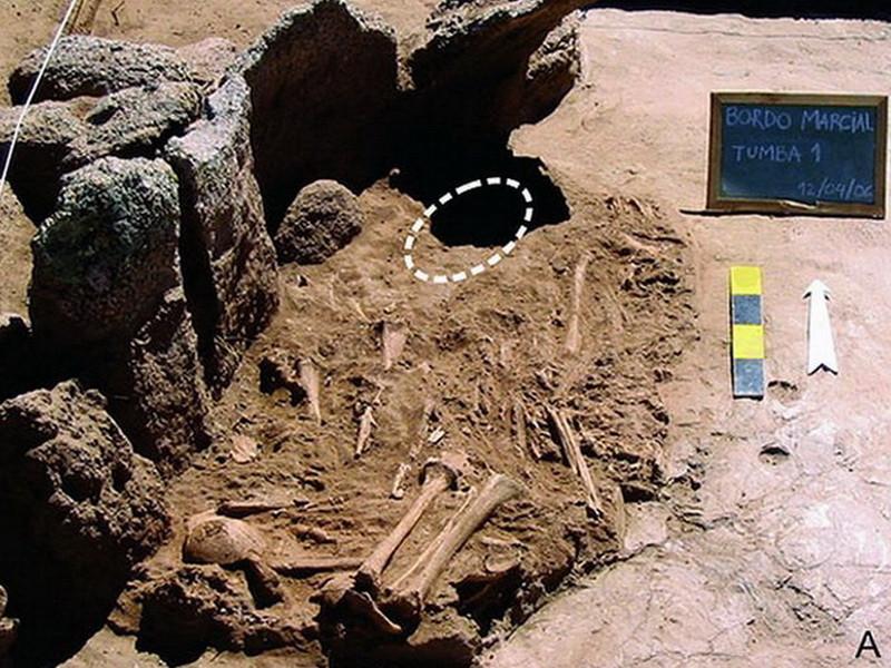Пугающая маска изАргентины оказалась древнейшим металлическим изделием на материке