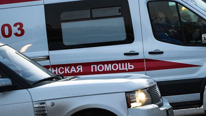 Трое полицейских пострадали врезультате происшествия надороге вцентре столицы