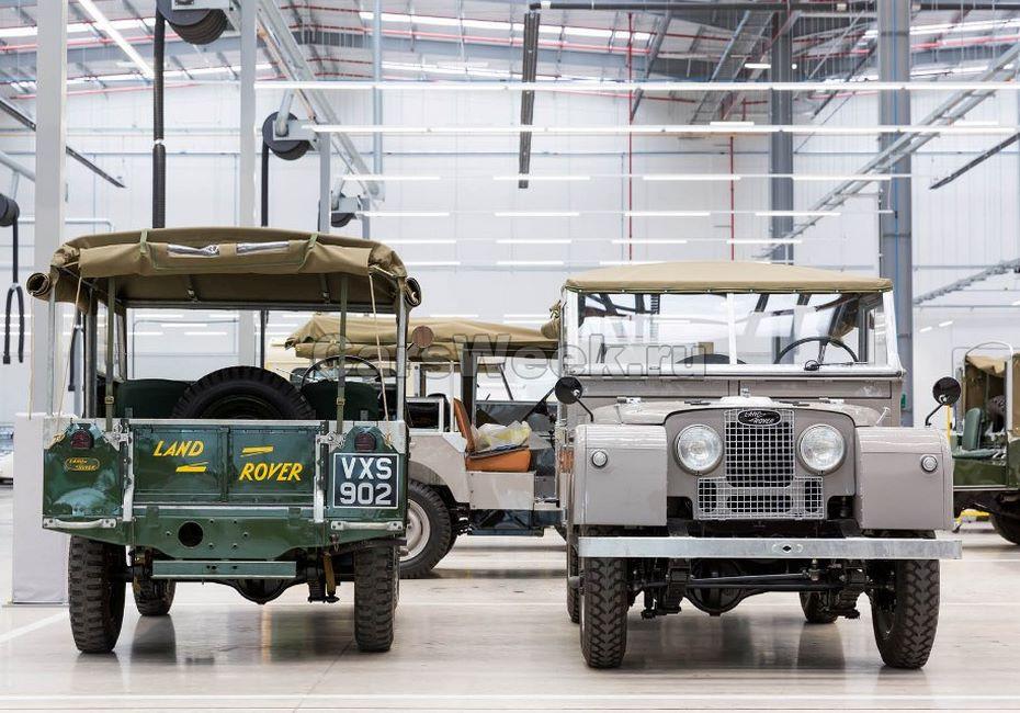 Ягуар Лэнд-Ровер открыл наибольший вмире комплекс традиционных авто
