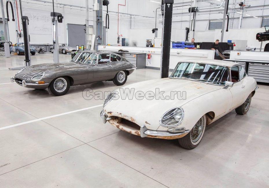 Jaguar Land Rover открыл самый большой в мире салон классических авто