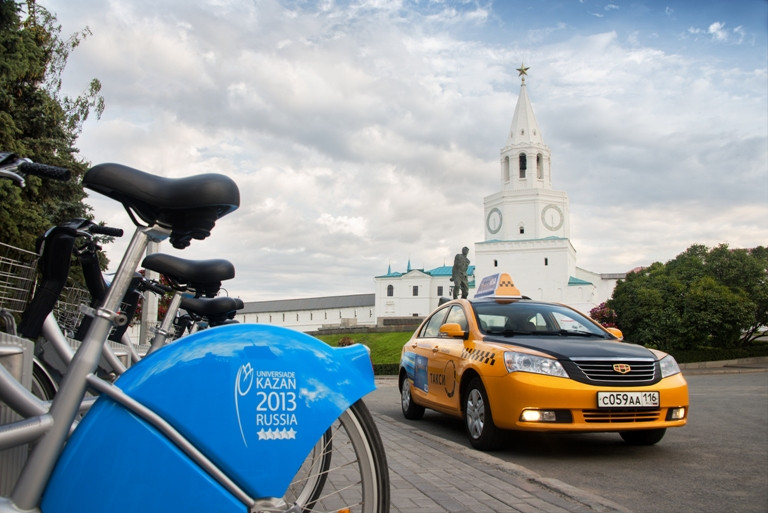 Власти Татарстана попросили такси незавышать тарифы навремя Кубка конфедераций