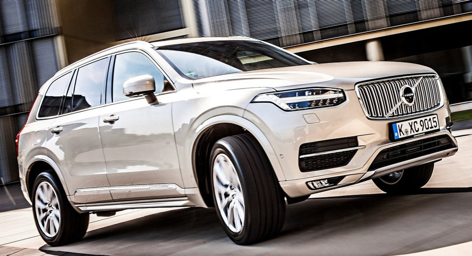 ВСША отзывают неменее 1 тысячи 300 экземпляров авто модели Вольво XC90