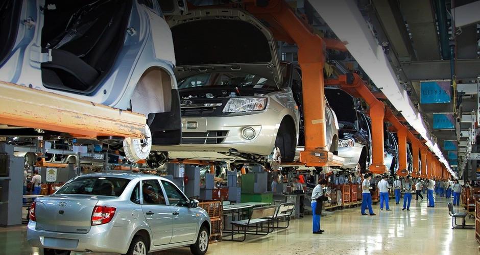 Производство авто в РФ заянварь— май выросло на20,7%