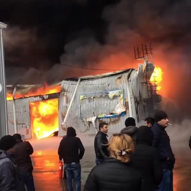 Пожар в помещении  наплощади 600 квметров локализовали вВидном