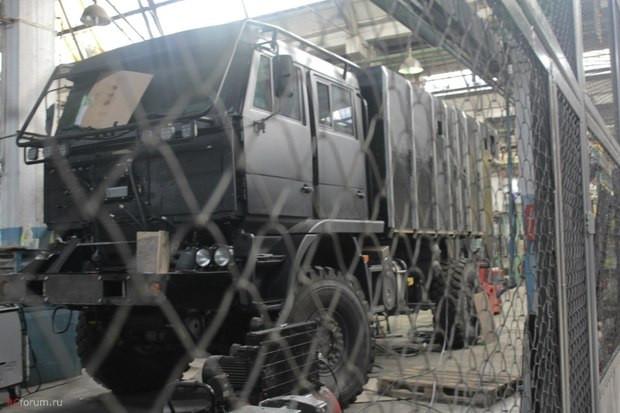 Спецназ ФСБ получит новый броневик «Викинг»