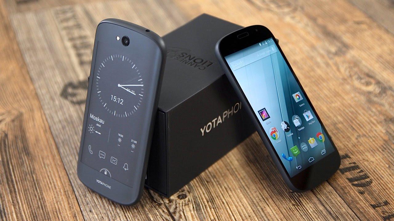 Раскрыты характеристики «двухэкранного» смартфона YotaPhone 3