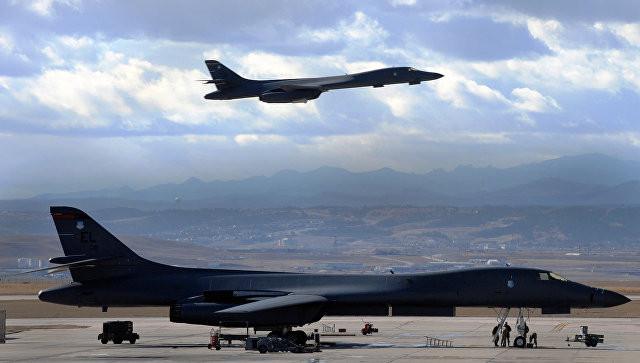 Стратегические бомбардировщики США проведут учения сВВС Южной Кореи