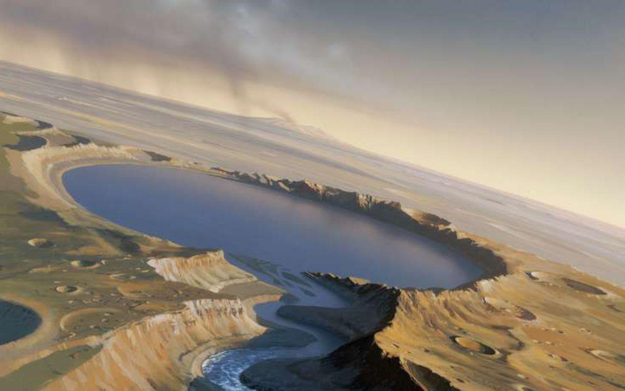 Зонд MRO сфотографировал марсоход Curiosity навершине горы Шарп