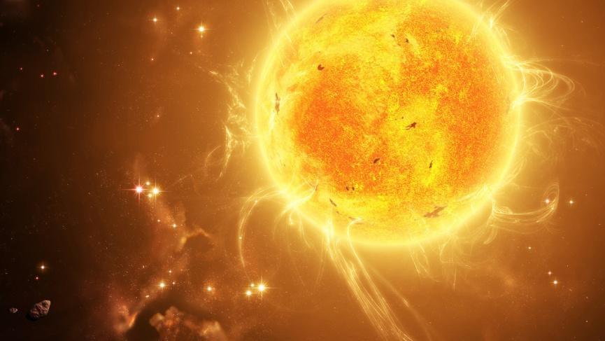 Ученые поняли, откуда наСолнце берутся столбы плазмы