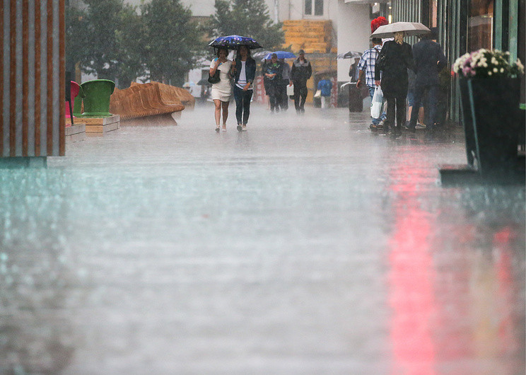 МЧС предупредило жителей столицы ограде ишквалистом ветре