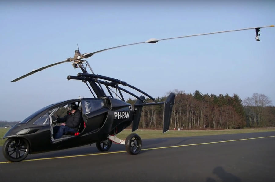 ВНидерландах появился 1-ый  летающий автомобиль