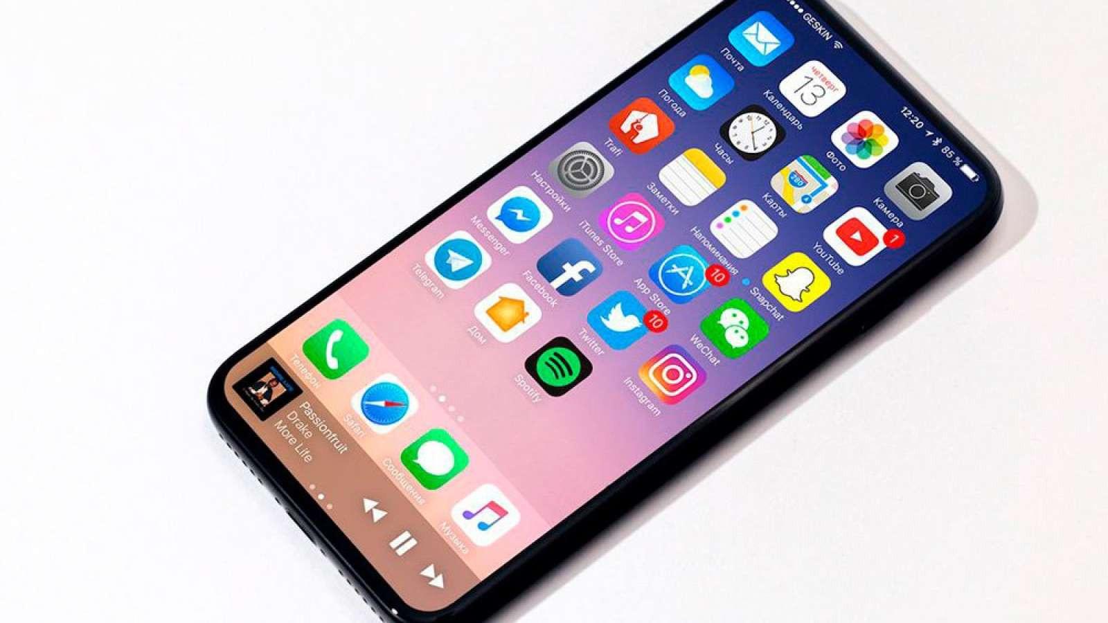 «Двойная камера икнопка Home»: Хакеры слили новые фотографии iPhone 8