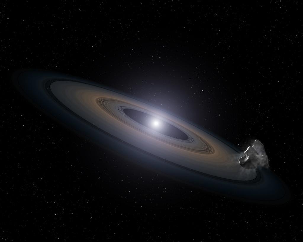 Астрономы из NASA «сфотографировали» мёртвую галактику