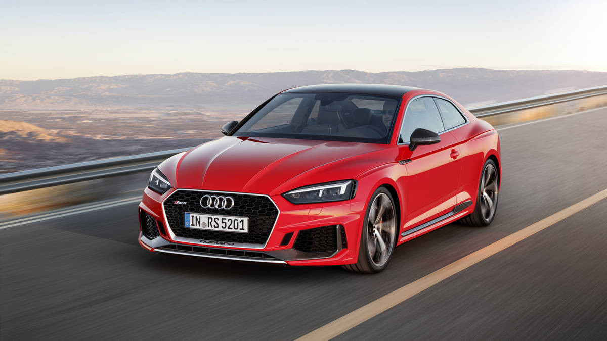Компания Ауди на трассах Франции провела серию тестов модели RS5 Coupe
