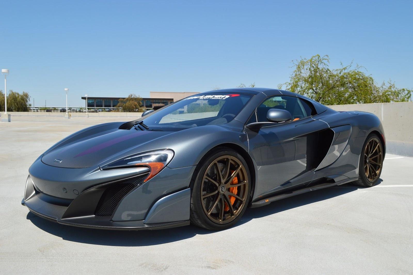 Представлен особый McLaren 675LT Spider от подразделения MSO