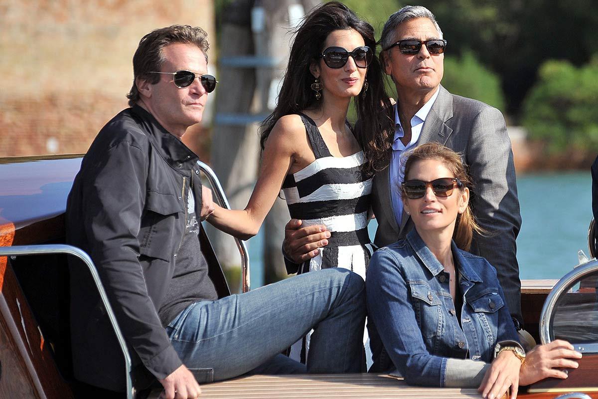 Супруг Синди Кроуфорд сказал, накого схожи дети Джорджа иАмаль Клуни
