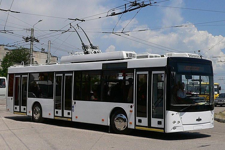 Обрыв контактной сети троллейбуса произошел назападе столицы