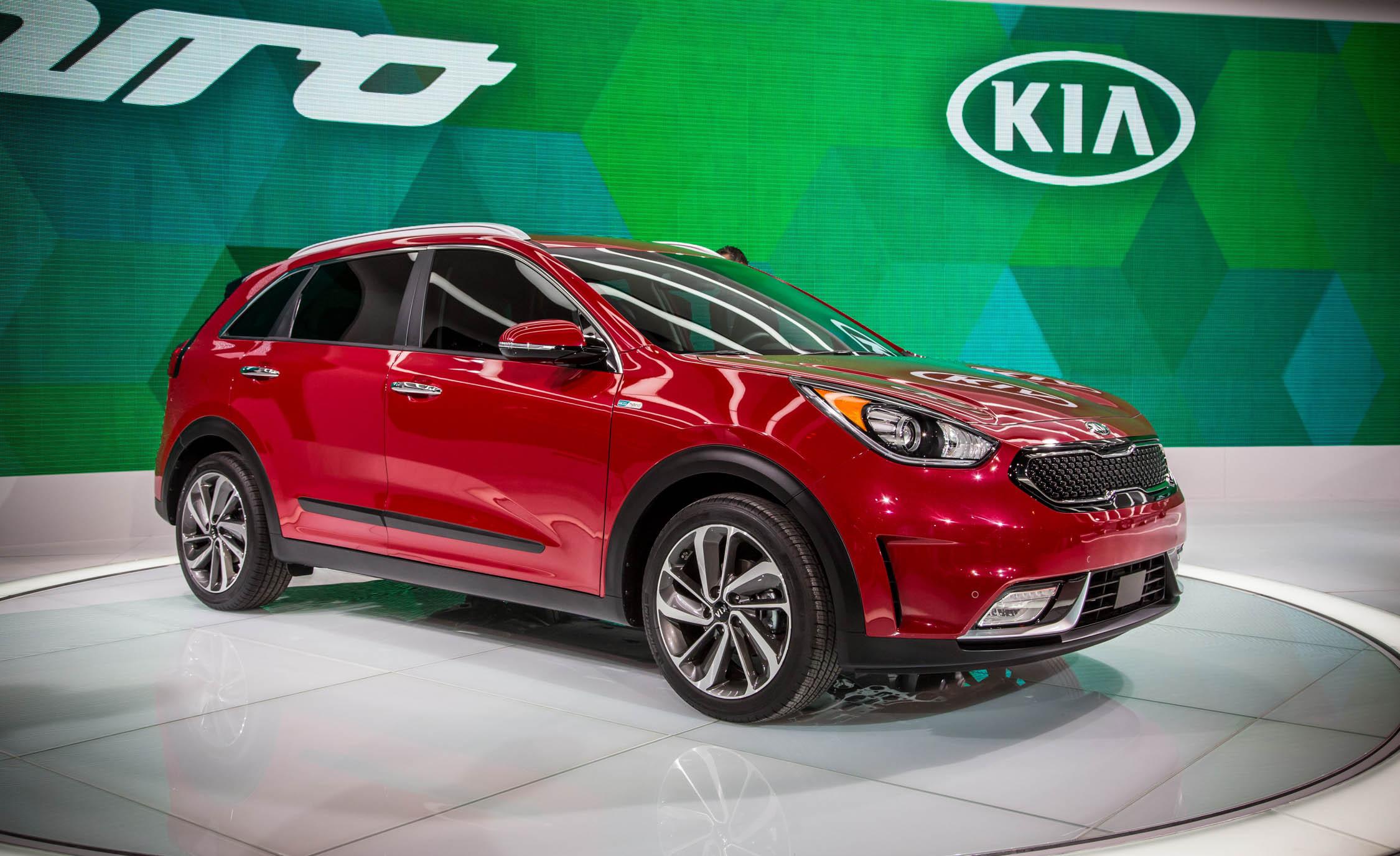 Kia представит электрокроссовер Niro в 2018 году