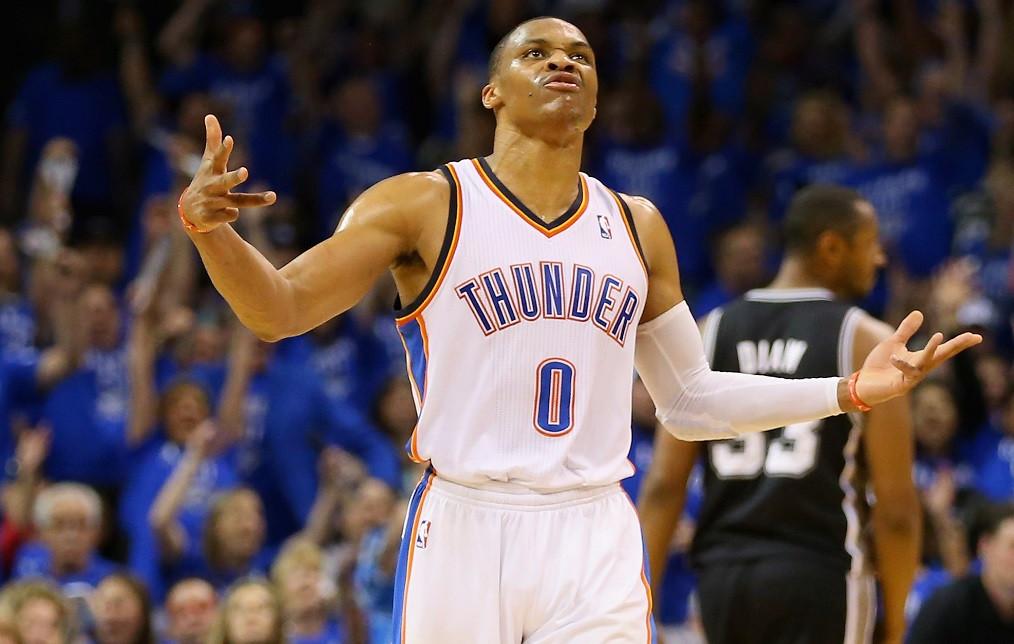 Плеймейкер «Оклахомы» Уэстбрук признан MVP сезона вNBA