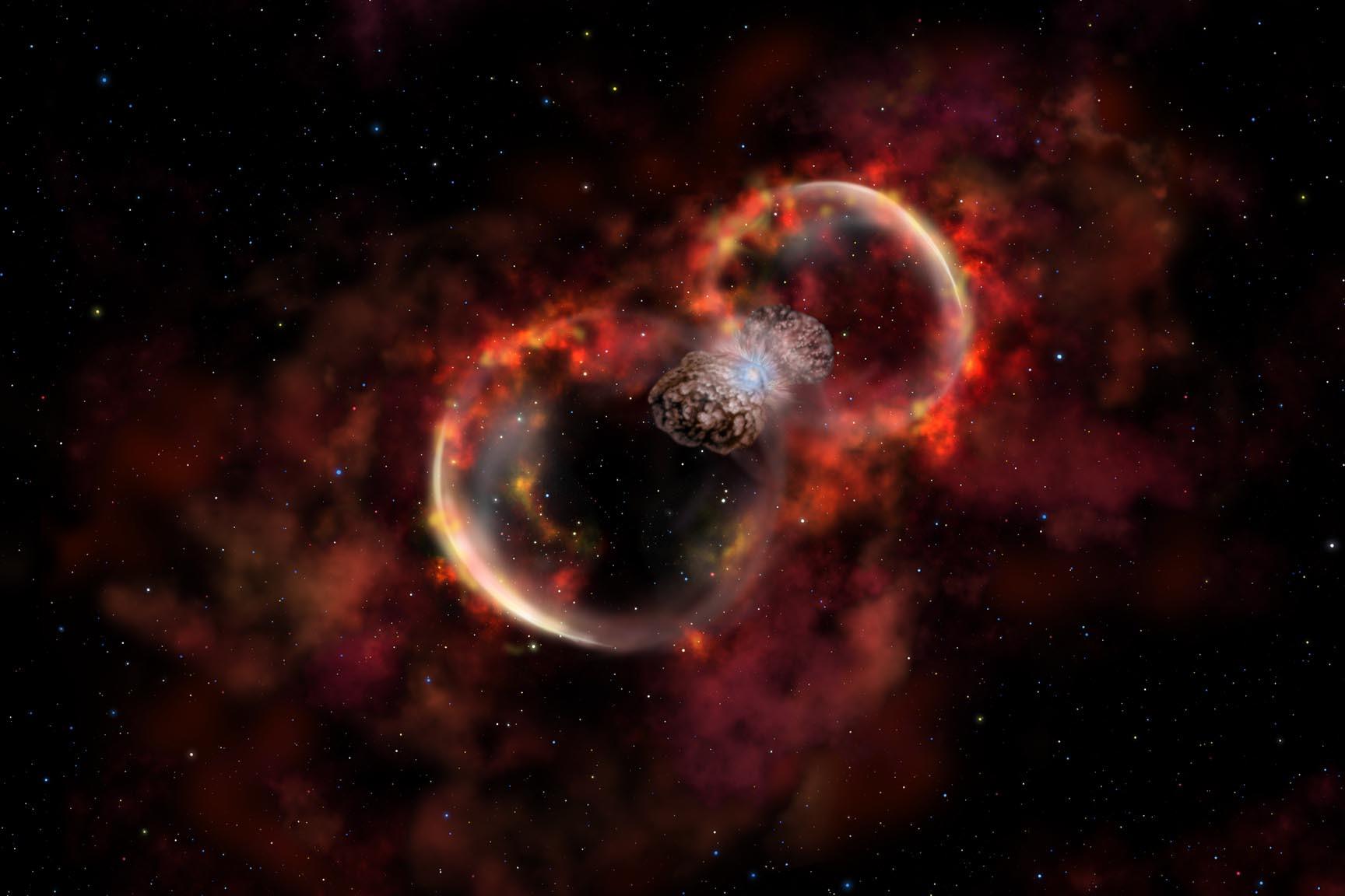 Звезда гипергигант при взрыве уничтожит всех живых организмов Земли— Ученые