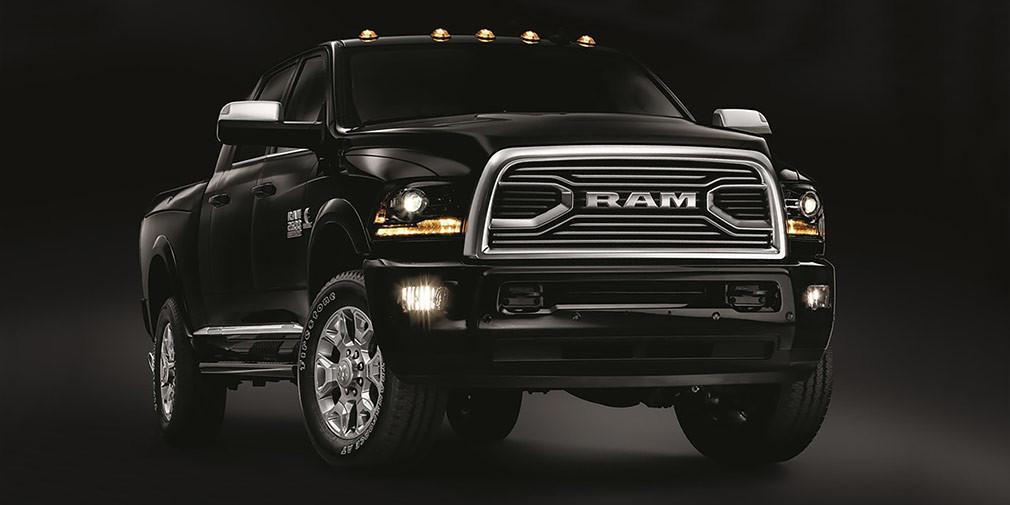 Ram представил роскошные версии пикапов 1500, 2500 и3500