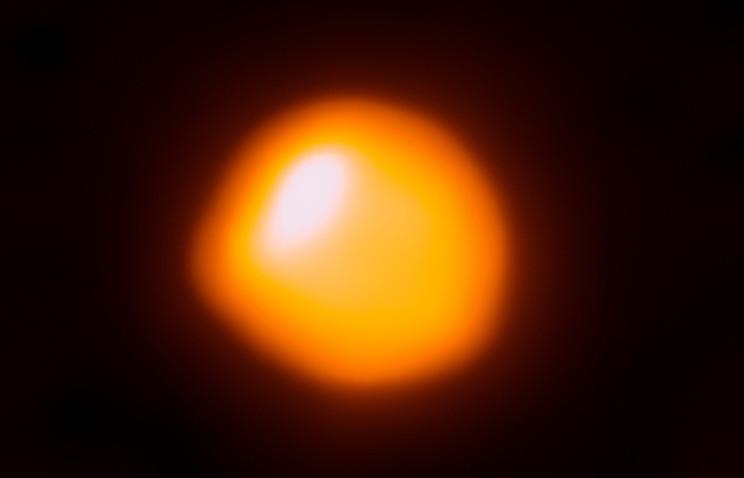 Представлен самый четкий снимок отличной от Солнца звезды