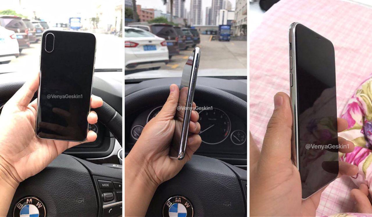 Корпус нового iPhone 8 появился впродаже