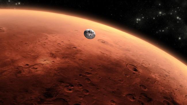 Инопланетные останки: на Марсе обнаружена окаменелая кость пришельца