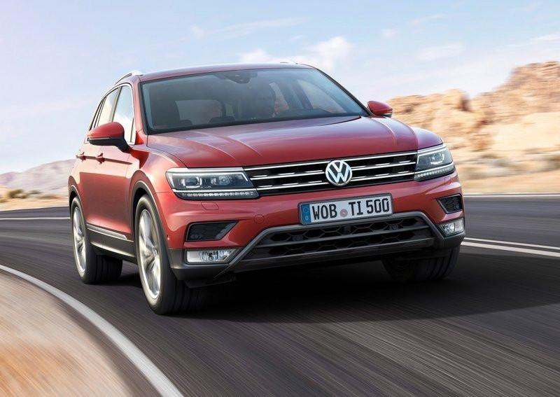 Новый VW Tiguan пользуется популярностью вевропейских странах