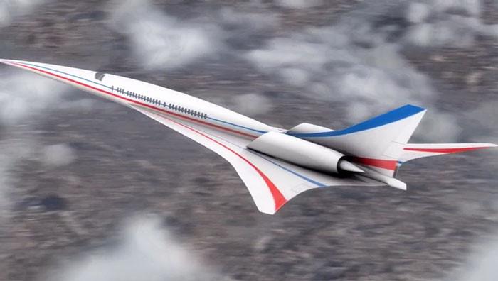 NASA разработало сверхзвуковой пассажирский самолет