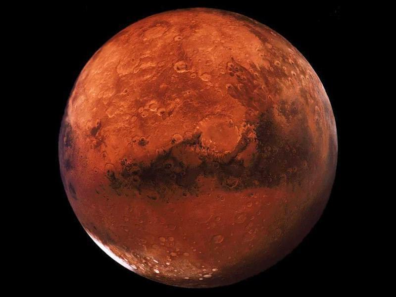 Вкратере наМарсе найдены останки животного